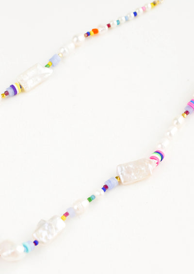 Aphrodite Pearl Mix Necklace hover