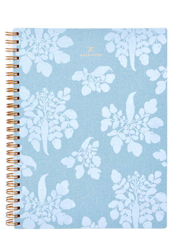 Chambray Blue: Appointed x Lewis Notebook in Chambray Blue - LEIF