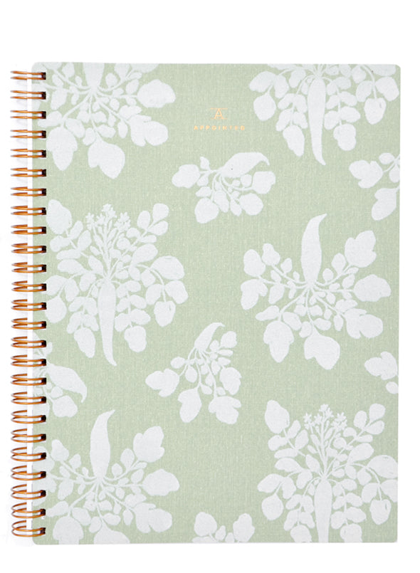 Sage Green: Appointed x Lewis Notebook in Sage Green - LEIF
