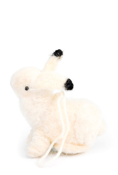 Arctic Hare Ornament - LEIF