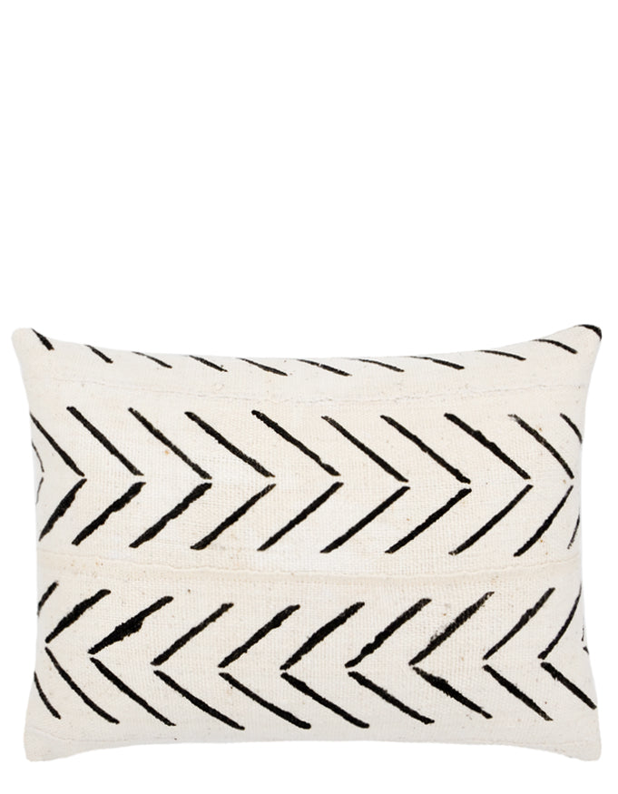 Arrows Mudcloth Pillow