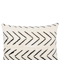 "Arrows Mudcloth Pillow in 12"" x 16"" [$98.00] - LEIF"