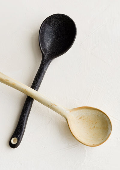 Auster Ceramic Spoon