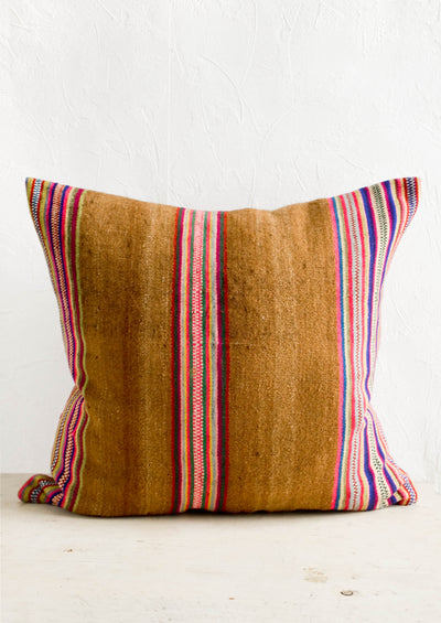 Awayu Striped Wool Pillow