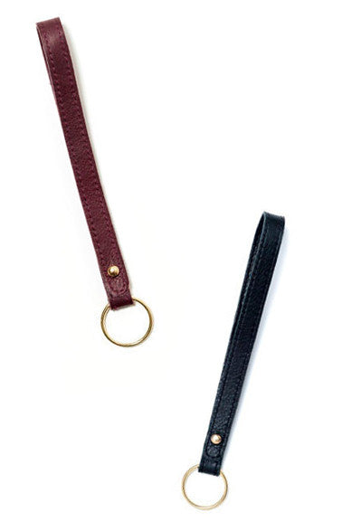 Loop Leather Keychain - LEIF