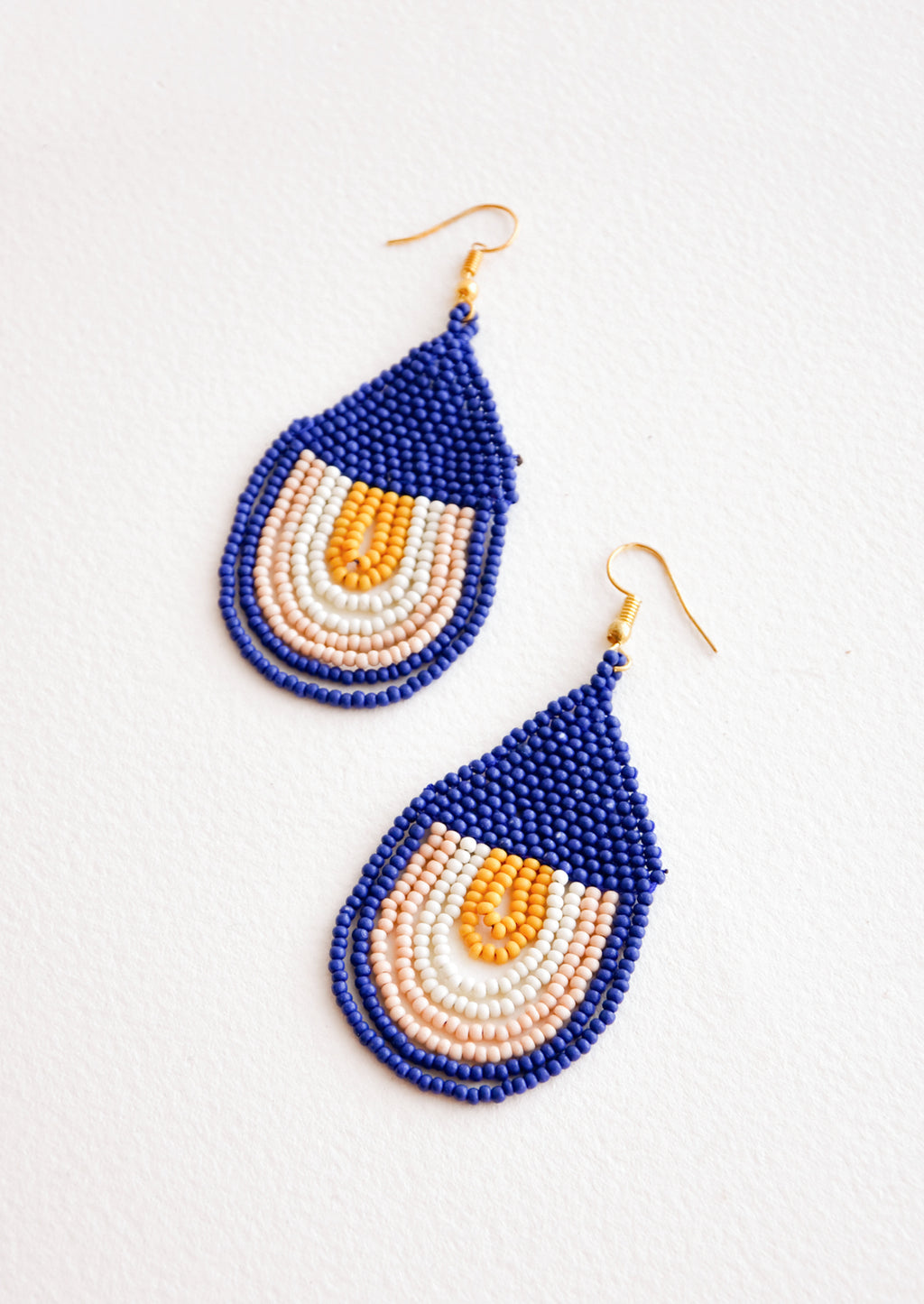 Lapis: Baja Sunset Earrings in Lapis - LEIF