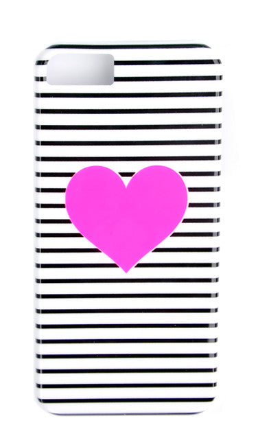 Heart Stripe iPhone 5/5S Case - LEIF