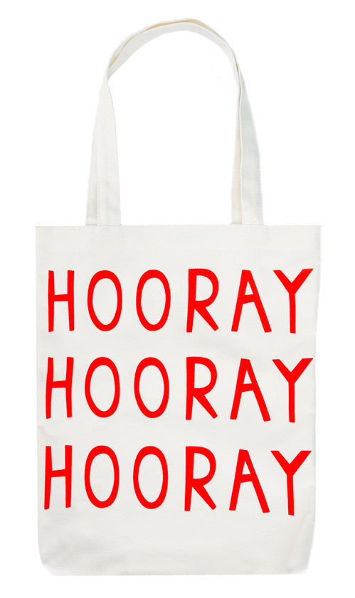 Hooray Canvas Tote - LEIF