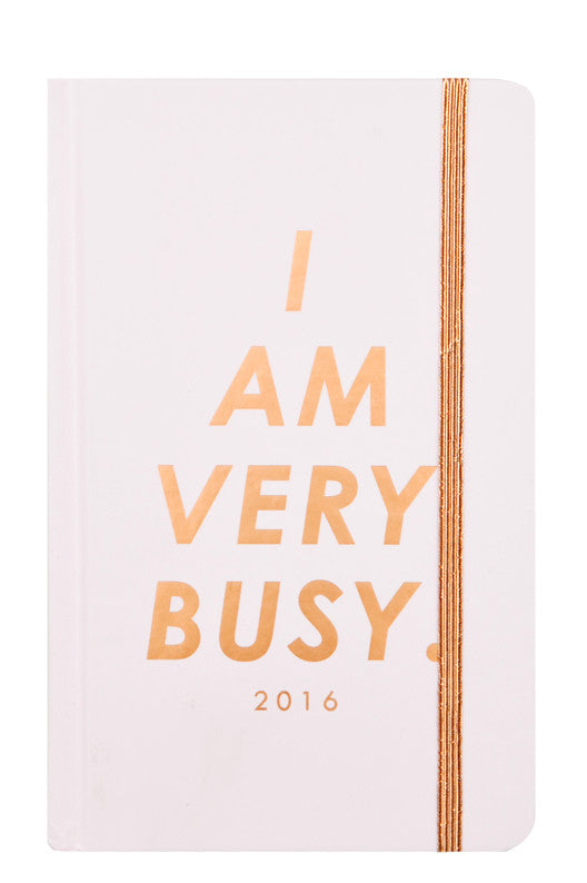 I Am Very Busy 2015/2016 Planner - LEIF