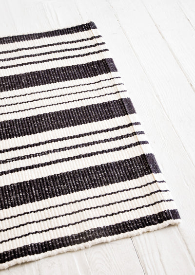 Bar Harbor Striped Cotton Rug hover