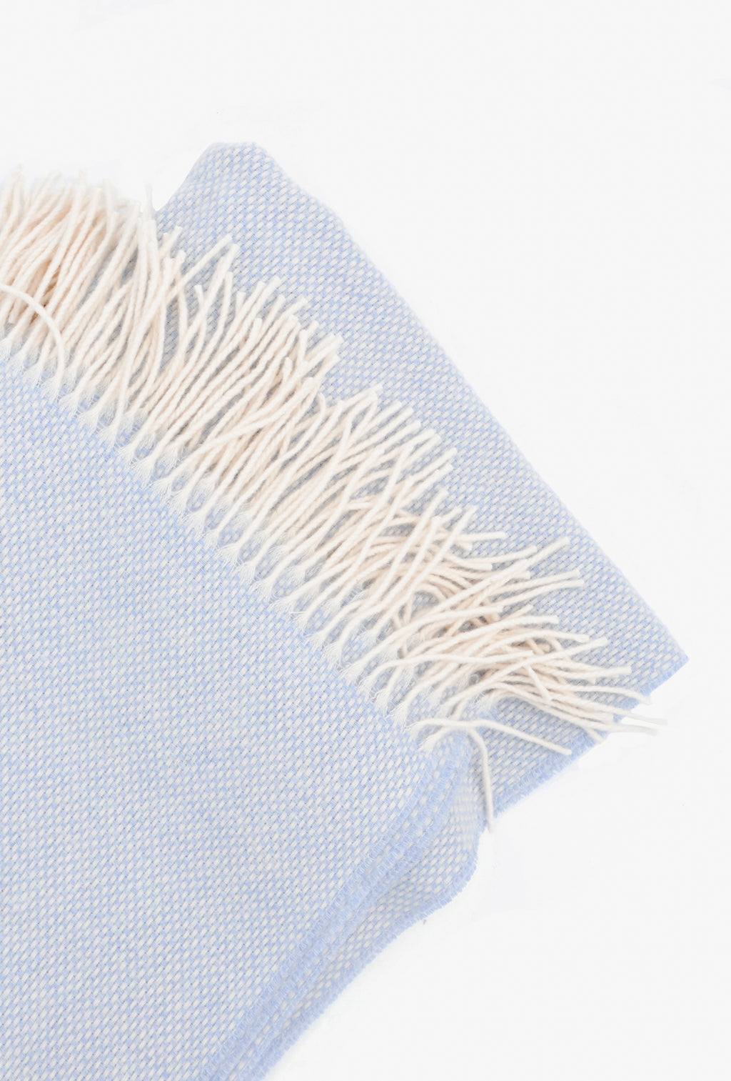 1: Basketweave Wool-Cashmere Throw in  - LEIF