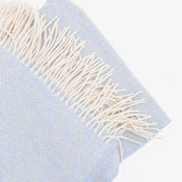 Basketweave Wool-Cashmere Throw - LEIF