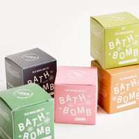 7: Colorful packaging of scented bath bombs