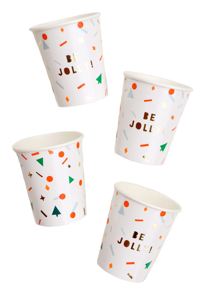 Holiday Confetti Paper Cups - LEIF