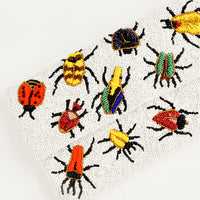 3: Beetles Beaded Clutch in  - LEIF