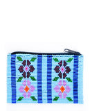 Flores Beaded Coin Purse