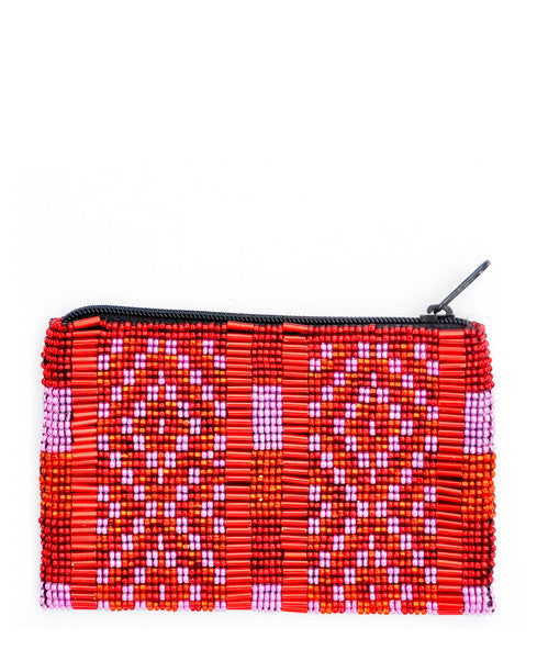 Flores Beaded Coin Purse - LEIF
