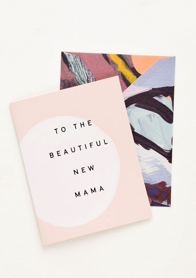 Beautiful New Mama Card