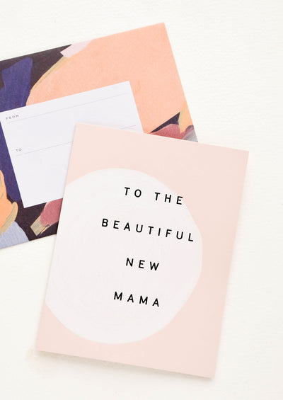 Beautiful New Mama Card hover