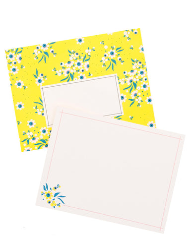 Belize Floral Notecard Set