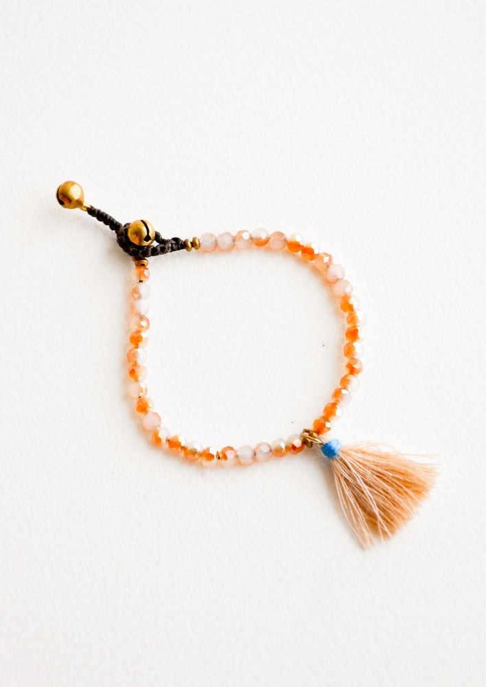 Apricot: Bells & Whistles Bracelet in Apricot - LEIF