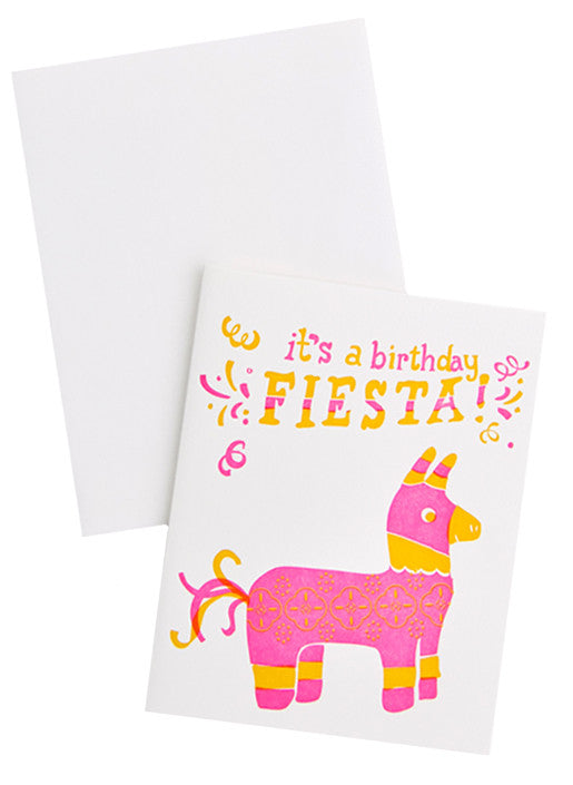 Birthday Fiesta Card - LEIF