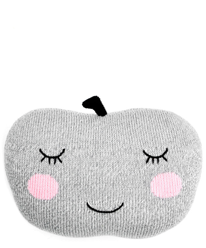 Knit Apple Pillow