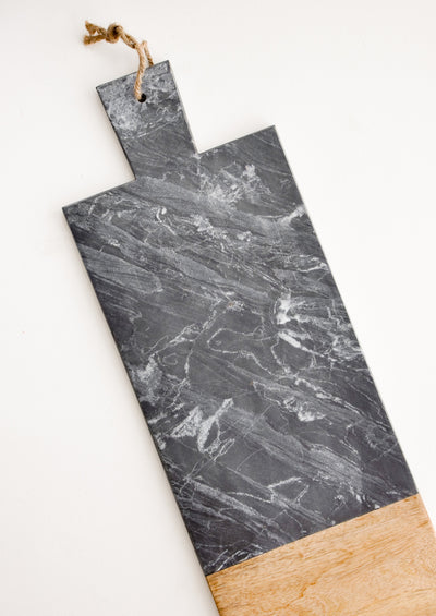Black Marble Serving Board in  - LEIF