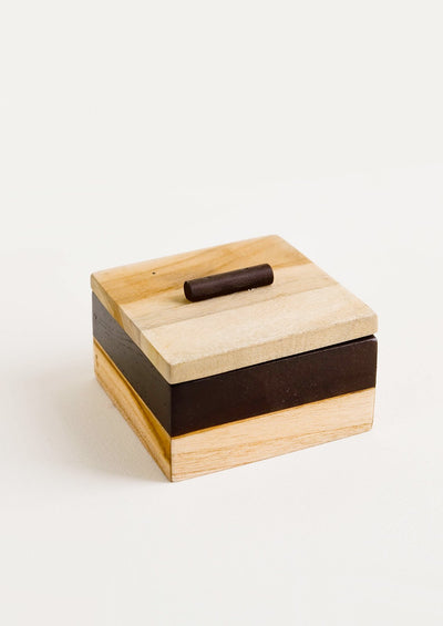 Black & Tan Storage Box hover