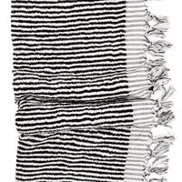 2: Blanc Noir Terry Towel in  - LEIF