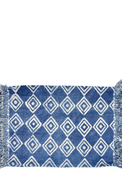 Block Printed Floor Mat - LEIF