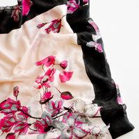 1: Blooming Dogwood Wool-Silk Scarf in  - LEIF