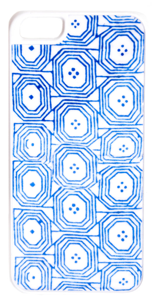 Blue Tile iPhone 5 Case - LEIF