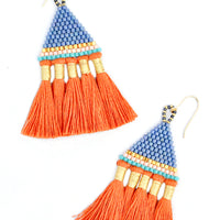 3: Incan Tassel Earrings in  - LEIF
