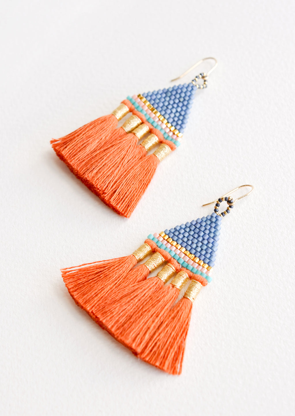 Incan Tassel Earrings