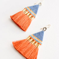1: Incan Tassel Earrings in  - LEIF
