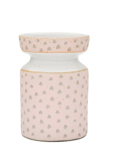 Blush Specks Ceramic Vase