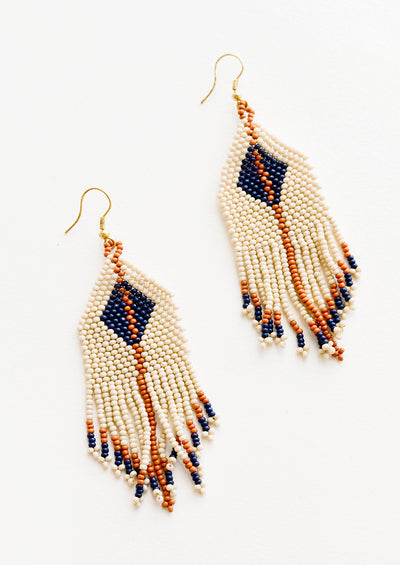 Bodrum Beaded Earrings in  - LEIF