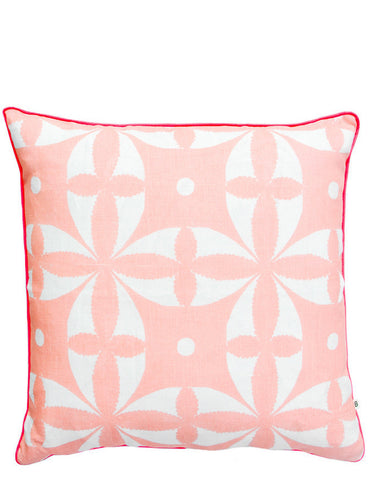 "Geo Floral Pillow, 20"" - LEIF"