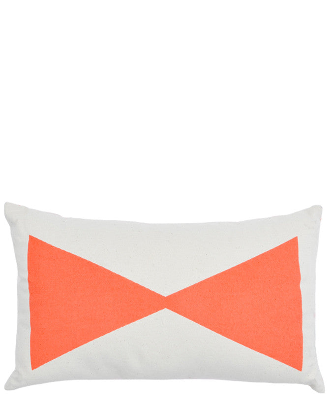 Bowtie Reversible Pillow - LEIF