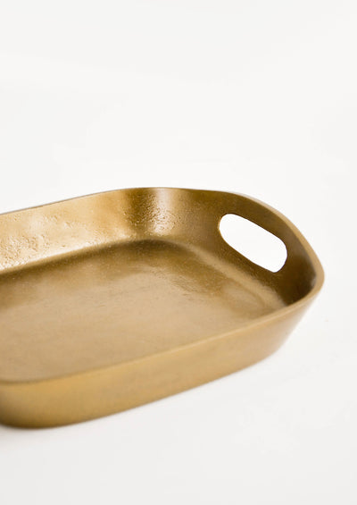Brass Patina Catchall Tray hover