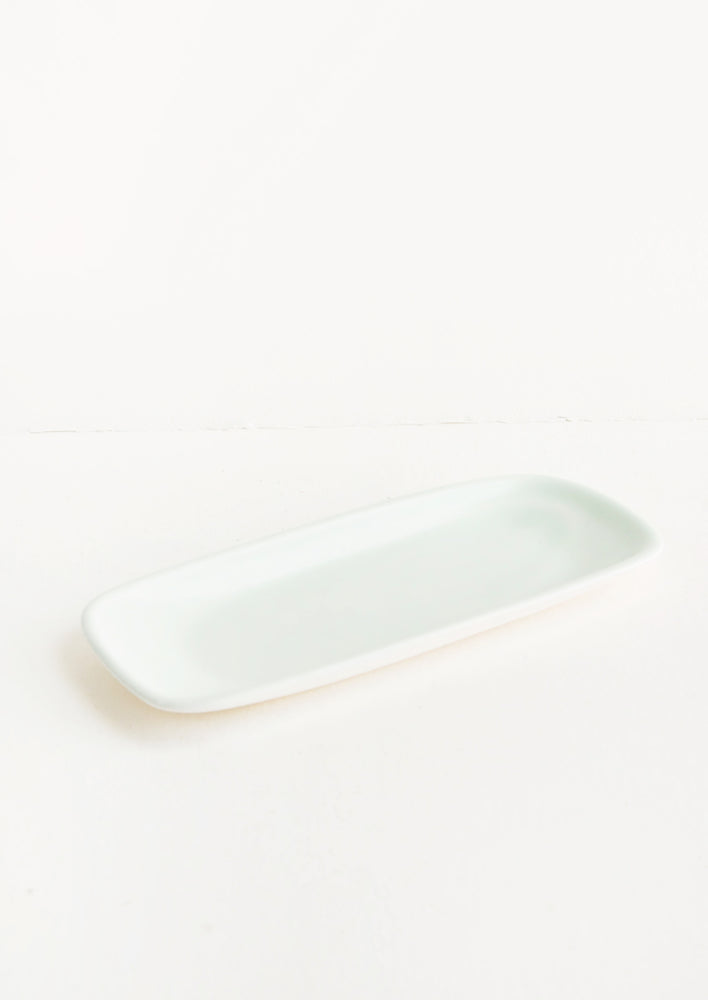 Mint: Gossamer Porcelain Tray in Mint - LEIF