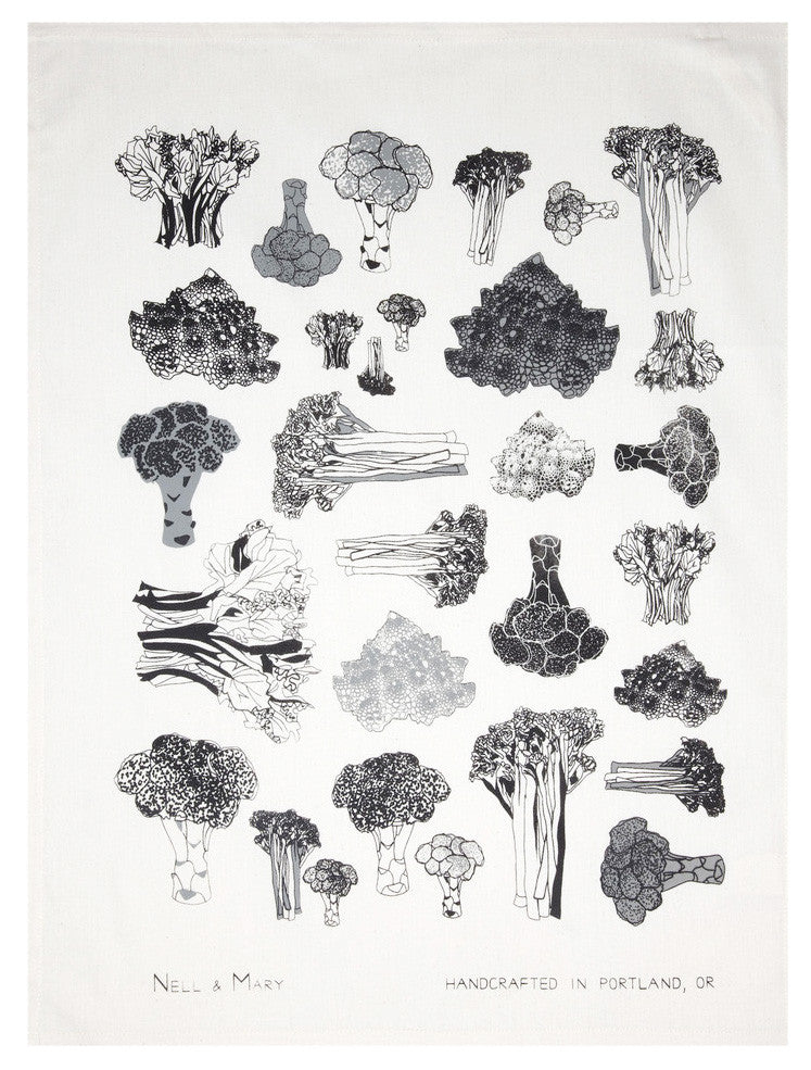 Broccoli Tea Towel - LEIF