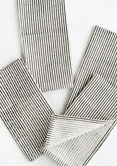 Broken Stripe Napkin Set
