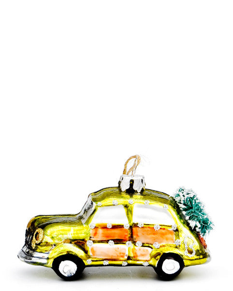 Wreath Buggy Ornament in  - LEIF