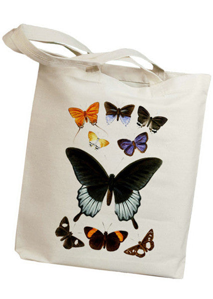 Butterfly Chart Tote