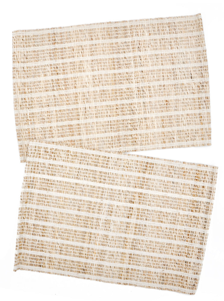2: Cabana Woven Placemat Set in  - LEIF