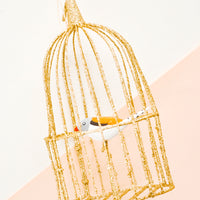 1: Caged Songbird Ornament in  - LEIF