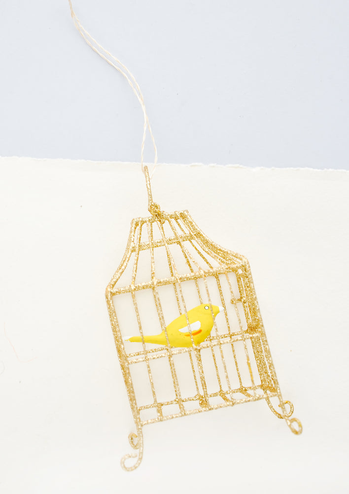 2: Caged Songbird Ornament in  - LEIF