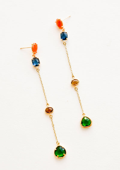 Calhoun Multicolor Gem Earrings